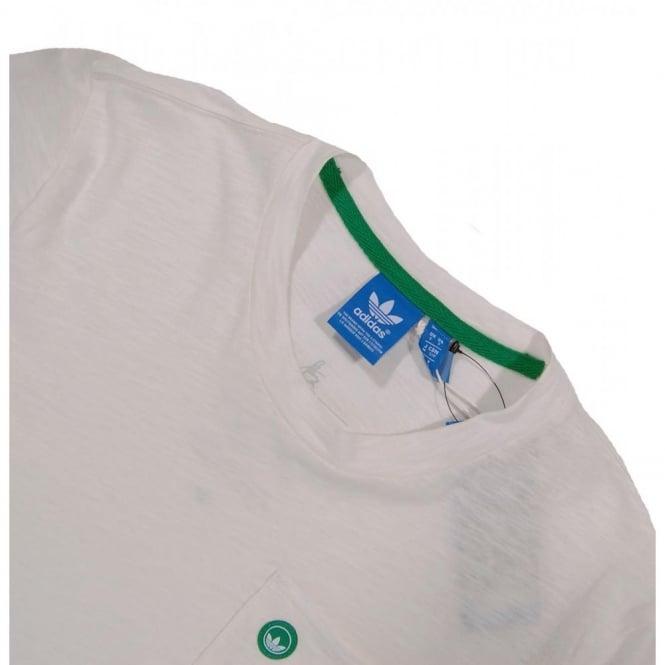 Adidas Originals Stan Ringer T Shirt White