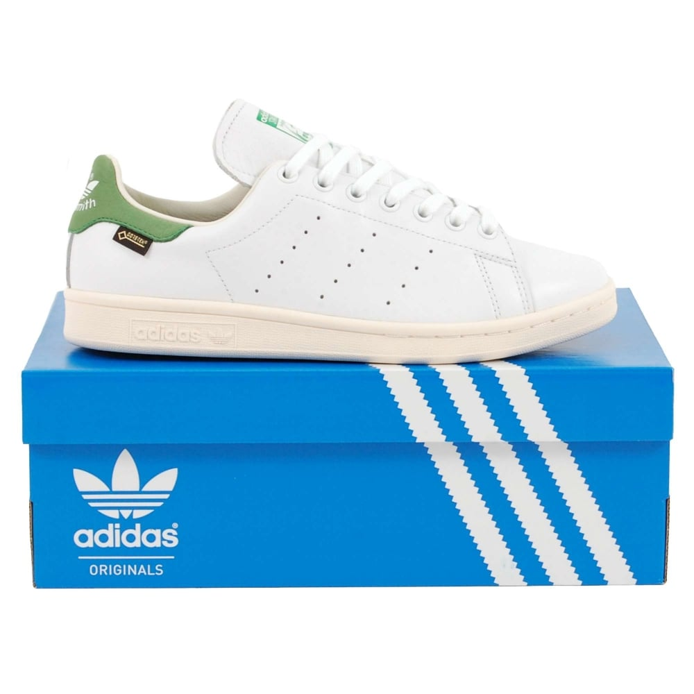timeless design 3df29 395e8 Adidas Originals Stan Smith Goretex White Green