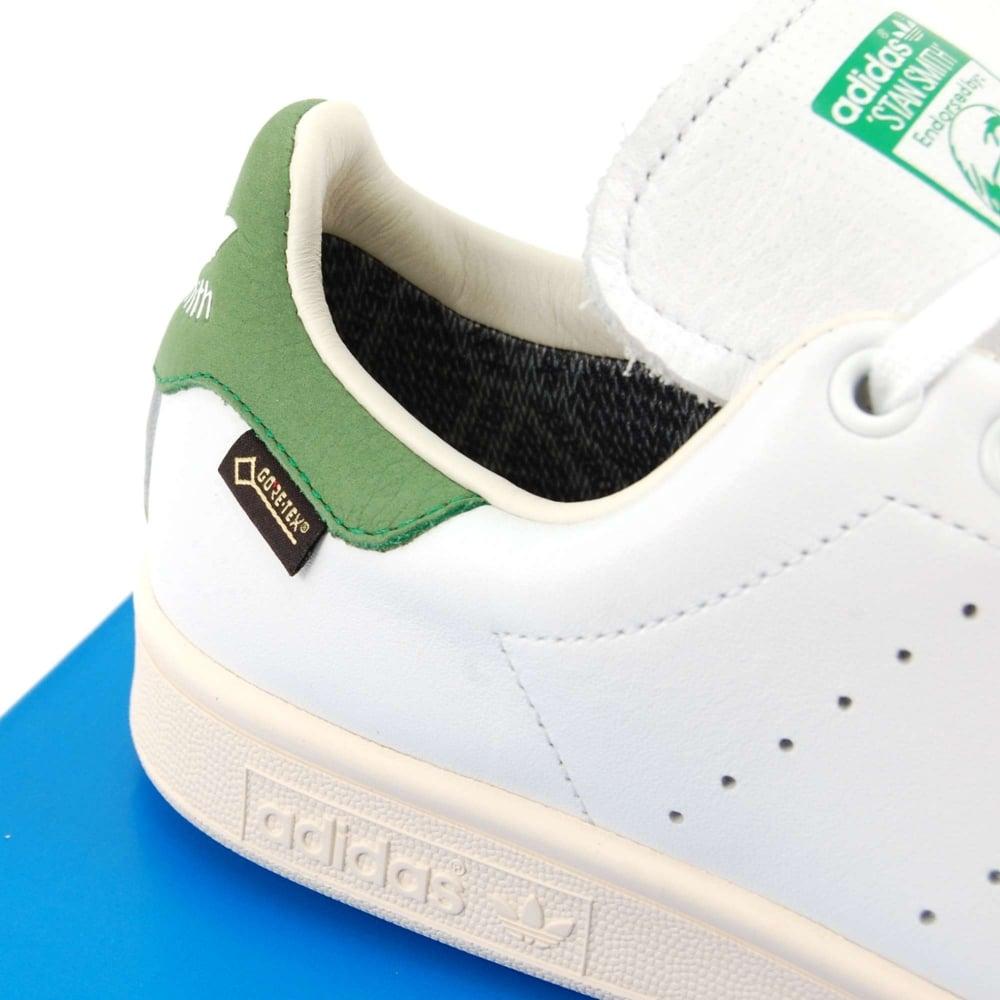 Stan Smith Goretex White Green