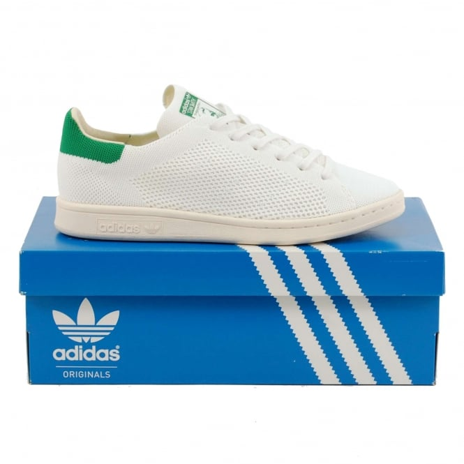 Adidas Originals Stan Smith OG Prime Knit White Green