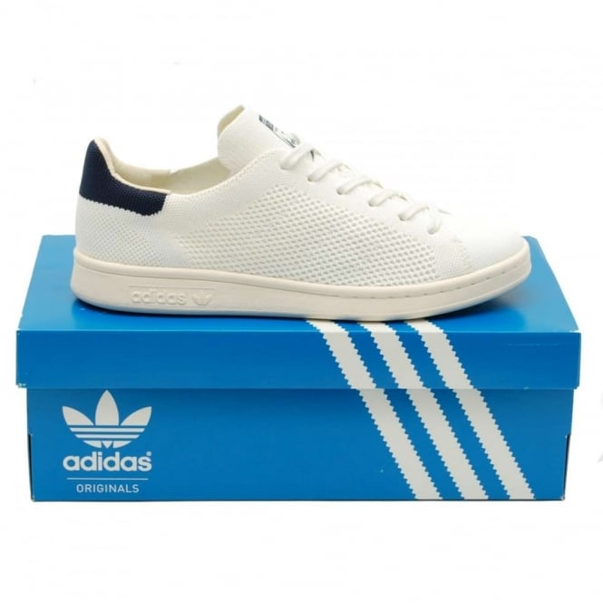 Adidas Originals Stan Smith OG Prime Knit White Navy