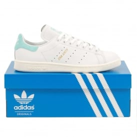 Stan Smith White Energy Aqua