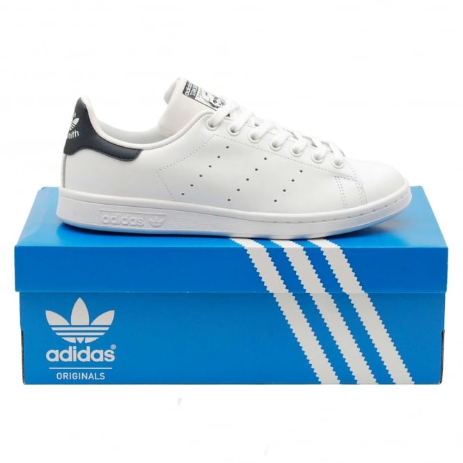 Adidas Originals Stan Smith White New Navy