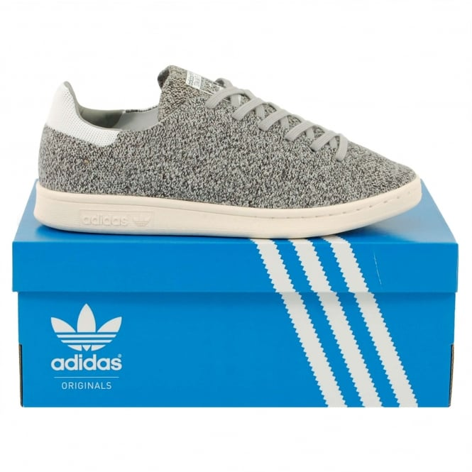 Adidas Originals Stan Smith Wool Primeknit Solid Grey Footwear White