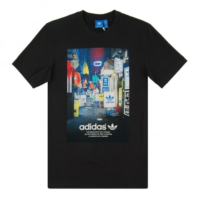 Adidas Originals Street Photo T-Shirt Black