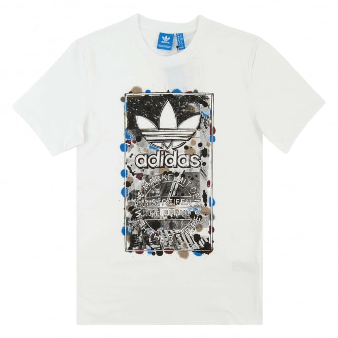 Adidas Originals Street T-Shirt White AZ1053