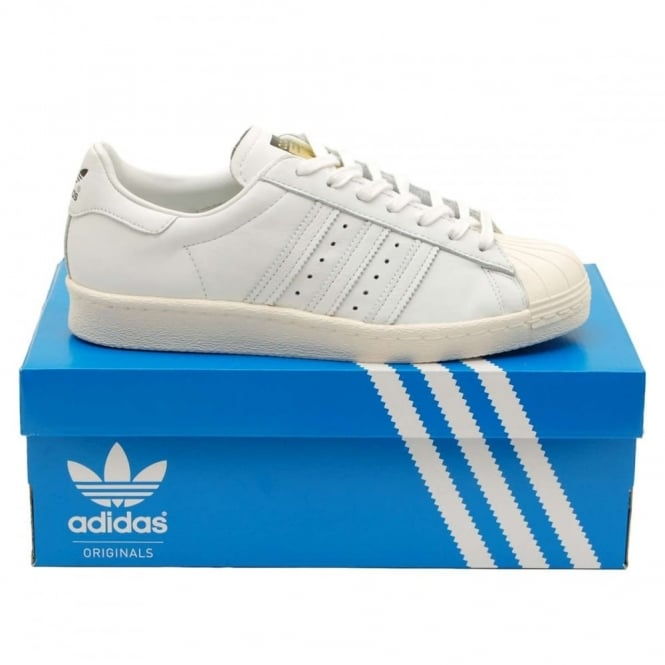 Adidas Originals Superstar 80's DLX White Chalk