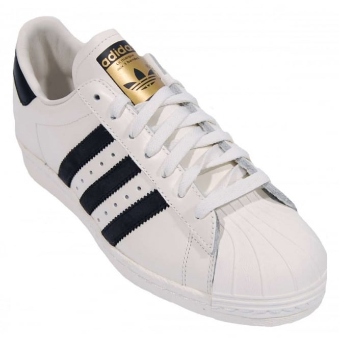 964179d91f42 Adidas Originals Superstar 80 s Vintage Deluxe Vintage White Core ...