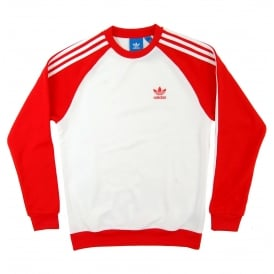 Superstar Crew White Core Red