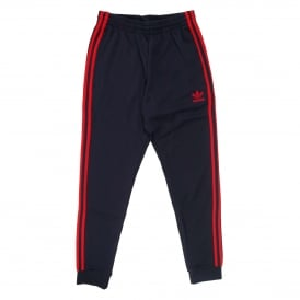 Superstar Cuffed Track Pant Legend Ink Red