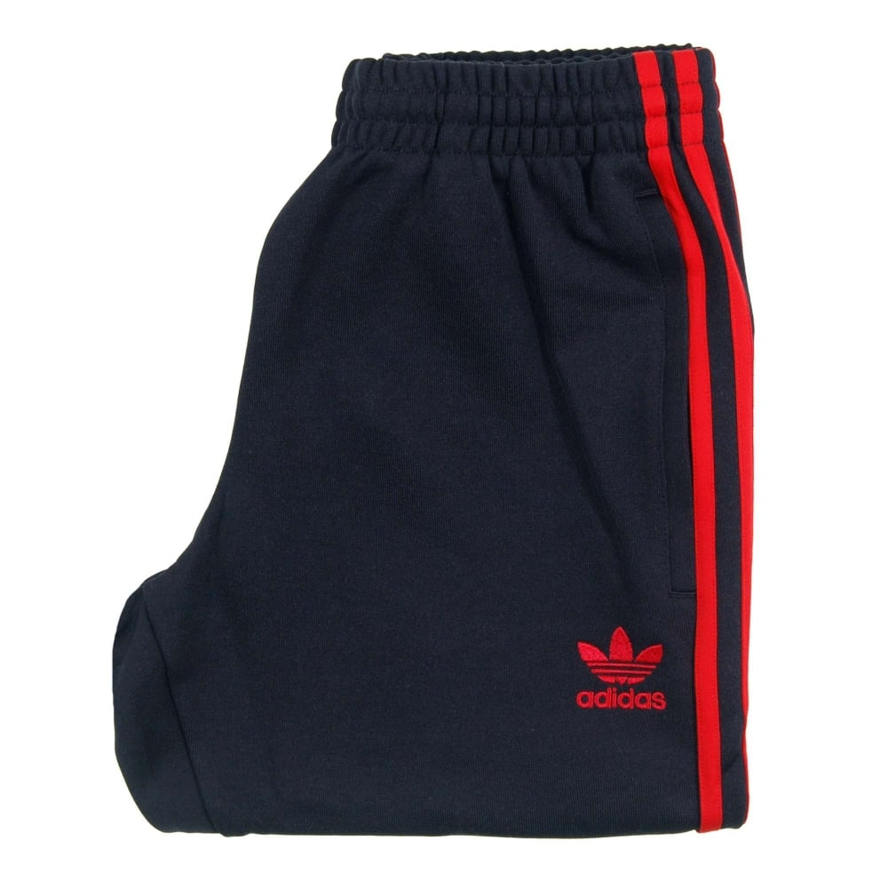 Adidas Originals Superstar Cuffed Track Pant Legend Ink Red