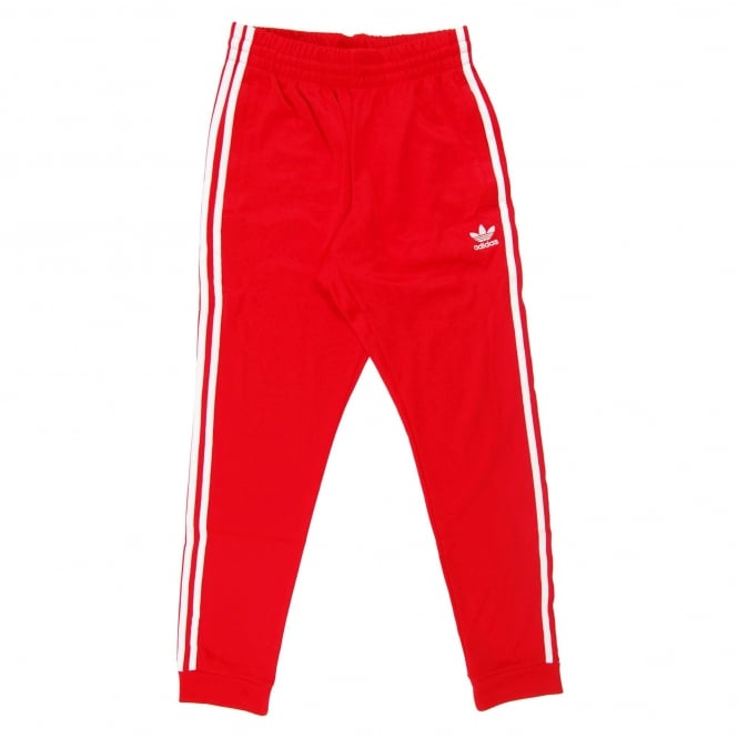 Adidas Originals Superstar Cuffed Track Pant Scarlet