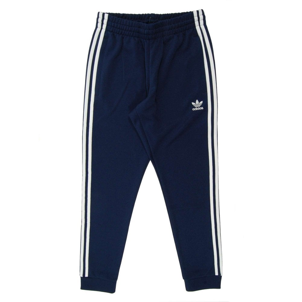 Razón Monet erupción  Superstar Track Pant Collegiate Navy - Mens Clothing from Attic Clothing UK