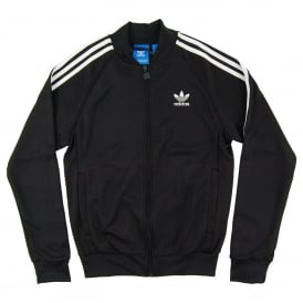 Superstar Track Top Black