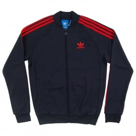 Superstar Track Top Legend Ink Red