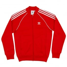 Superstar Track Top Scarlet