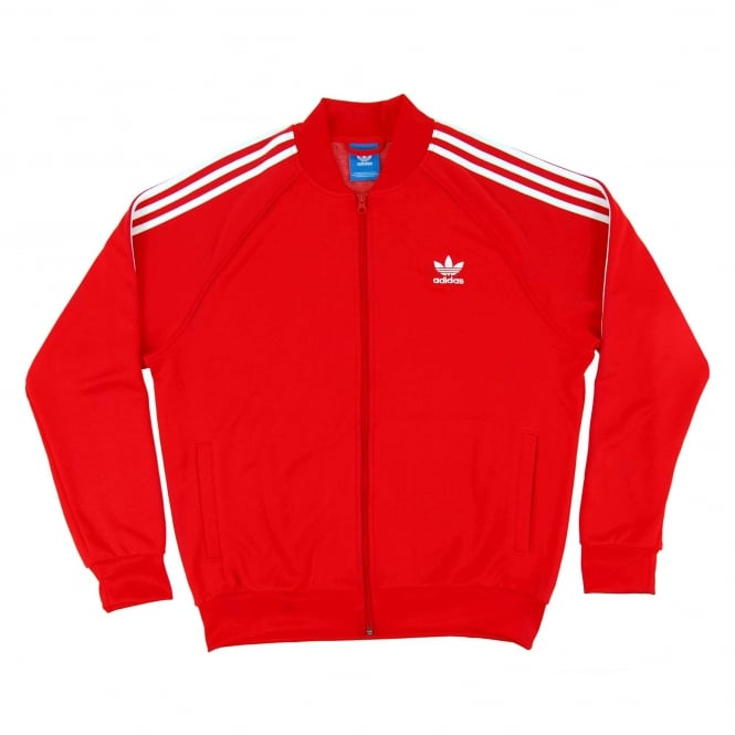 Adidas Originals Superstar Track Top Vivid Red