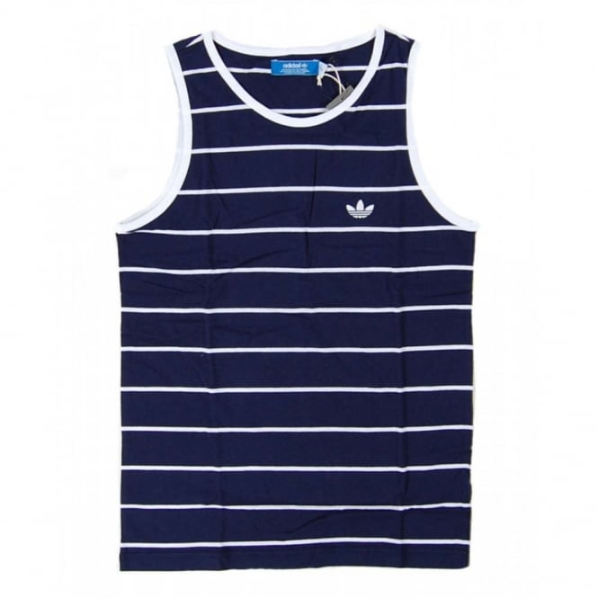 Eeh2iydbw9 Clothing Mens Vest Indigo From Adidas Top Tank Dark Originals SzpGqUMV