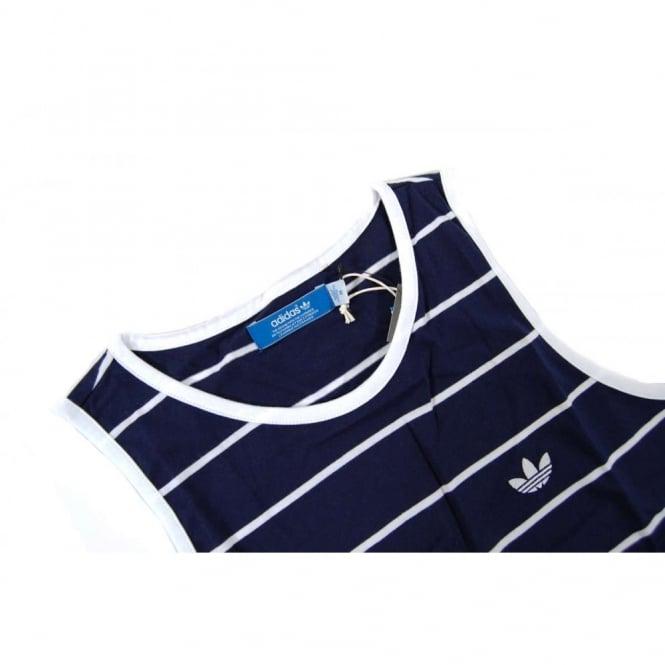 Adidas Originals Tank Top Vest Dark Indigo