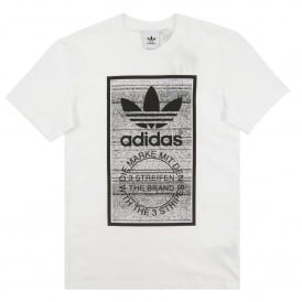 Traction Tongue Label T-Shirt White