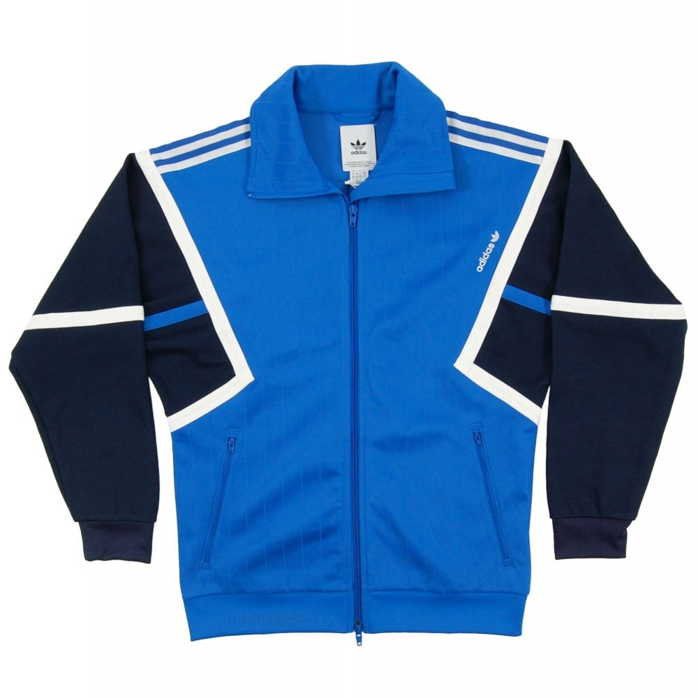 d722bae1c1230 Adidas Originals Training Track Jacket Blue Collegiate Navy White ...