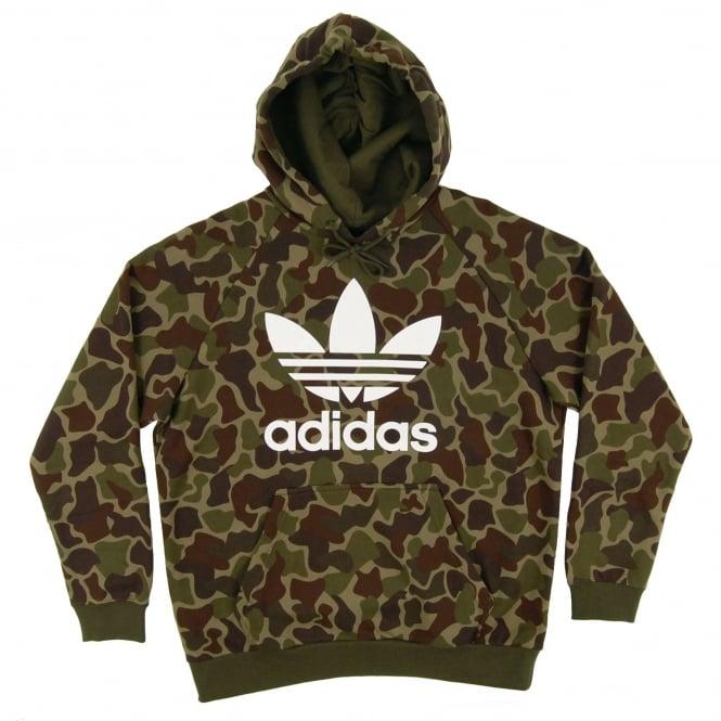 Sweatshirt Adidas Originals Trefoil Camouflage Hoody multicolor