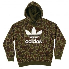 Trefoil Camouflage Hoody Multicolor