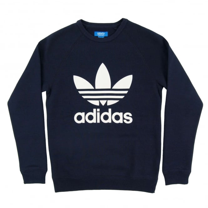Adidas Originals Trefoil Crew Sweatshirt Legend Ink
