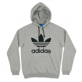 Trefoil Hoody Medium Grey Heather