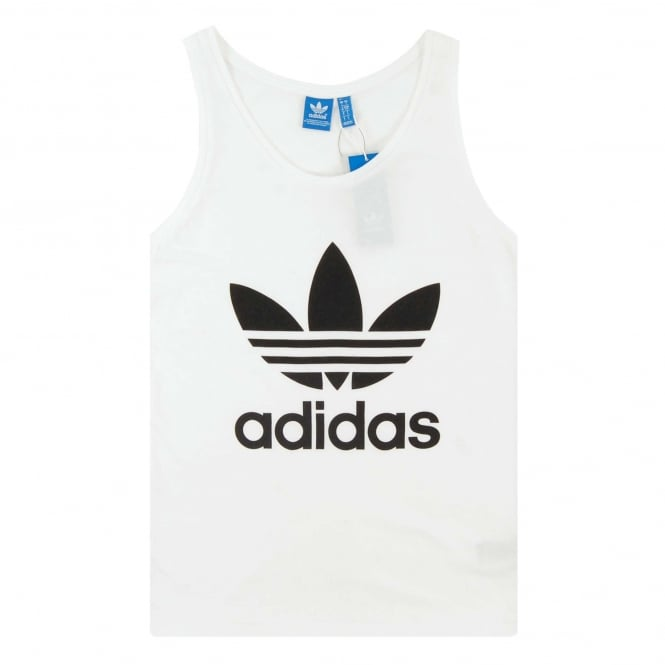 Adidas Originals Trefoil Tank White