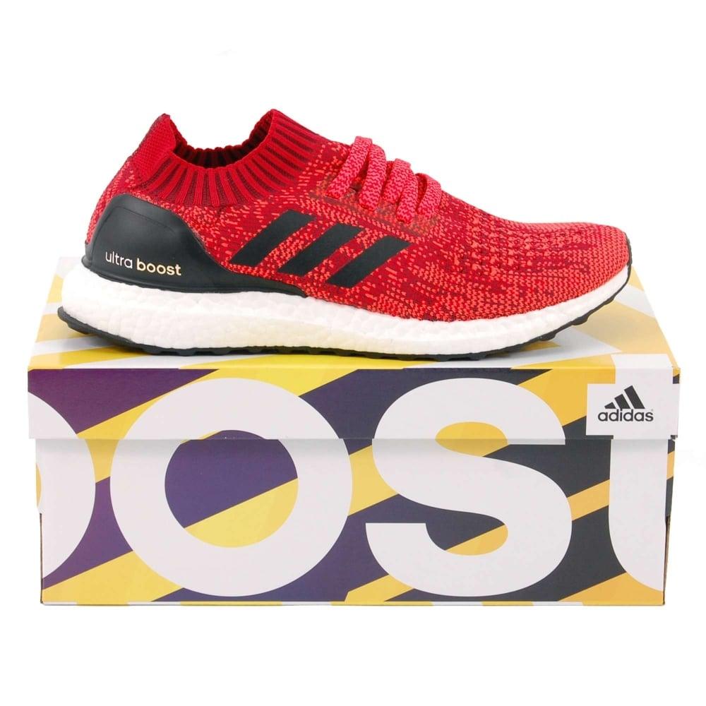 e3c82e475 Adidas Originals Ultra Boost Uncaged Scarlet Solar Red Core Black ...