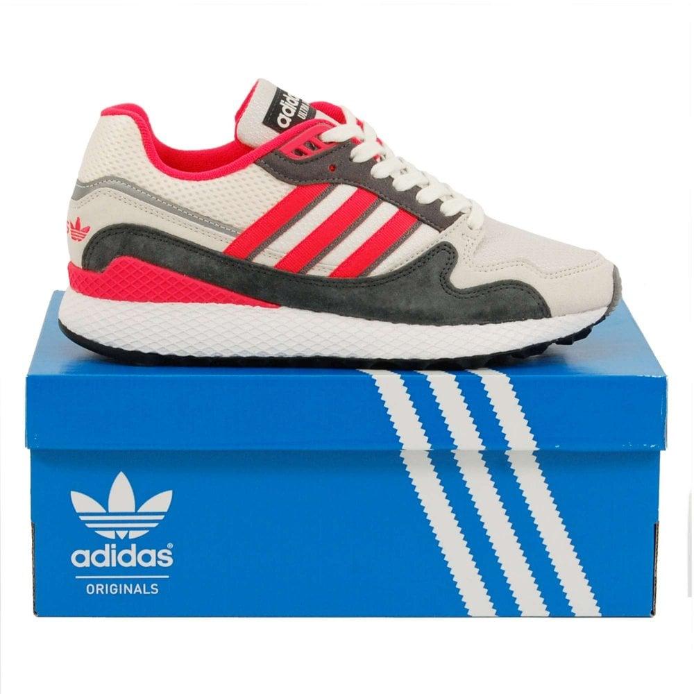 Adidas Originals Ultra Tech Raw White Shock Red Grey Four