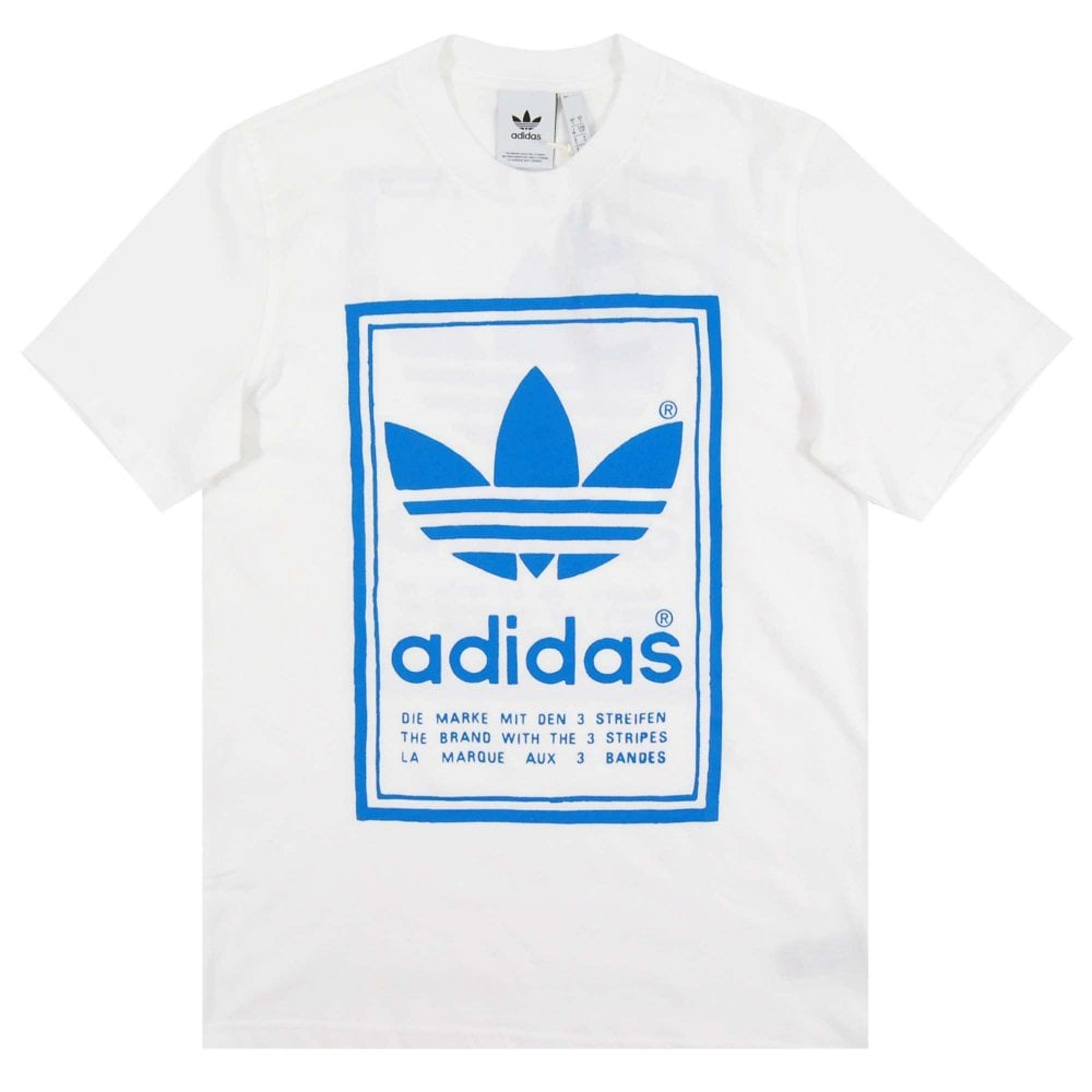 5146a4632efe Adidas Originals Vintage T-Shirt White - Mens Clothing from Attic ...