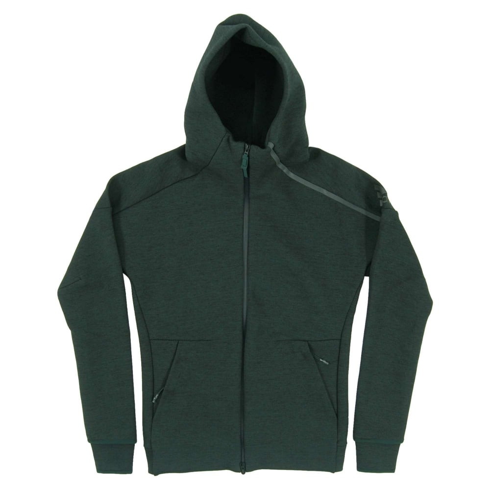 adidas ZNE Hoodie In Green Heather