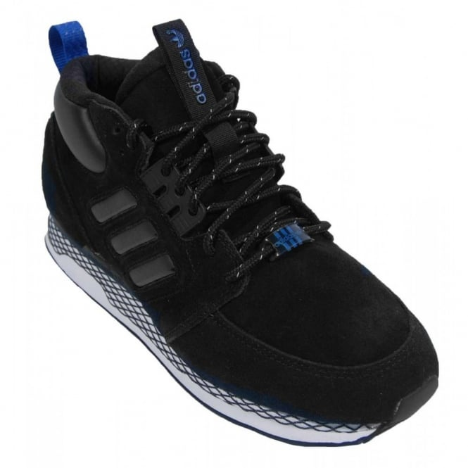 ZX Casual Mid Black White Vapour