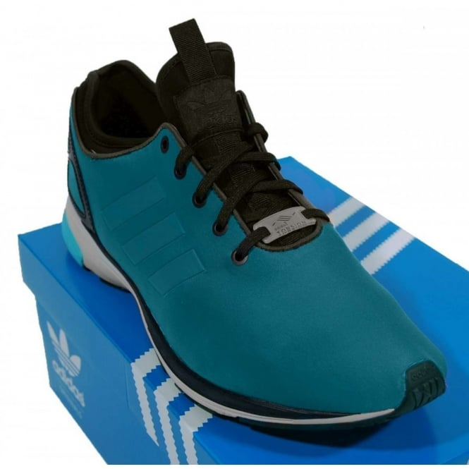sports shoes f536b d4e03 ZX Flux Tech NPS Hero Blue Black