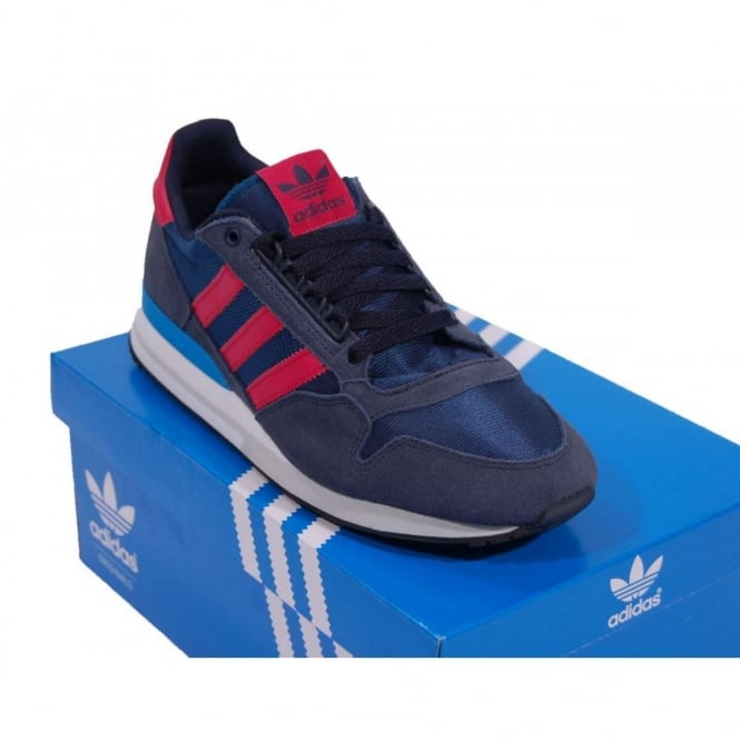 size 40 3b92f 7c0be Adidas Originals ZX500 OG Tribe Blue Red Beauty