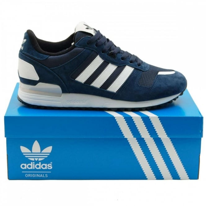 adidas Originals ZX 700 Navy Red White | KicksOnFire