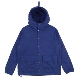 Garment Dyed Hooded Parka Navy