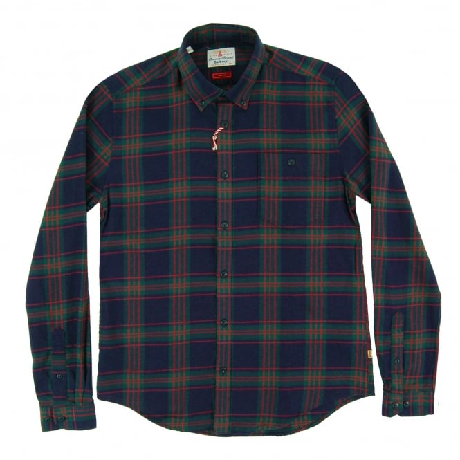 Barbour Airlie Check Shirt Forest