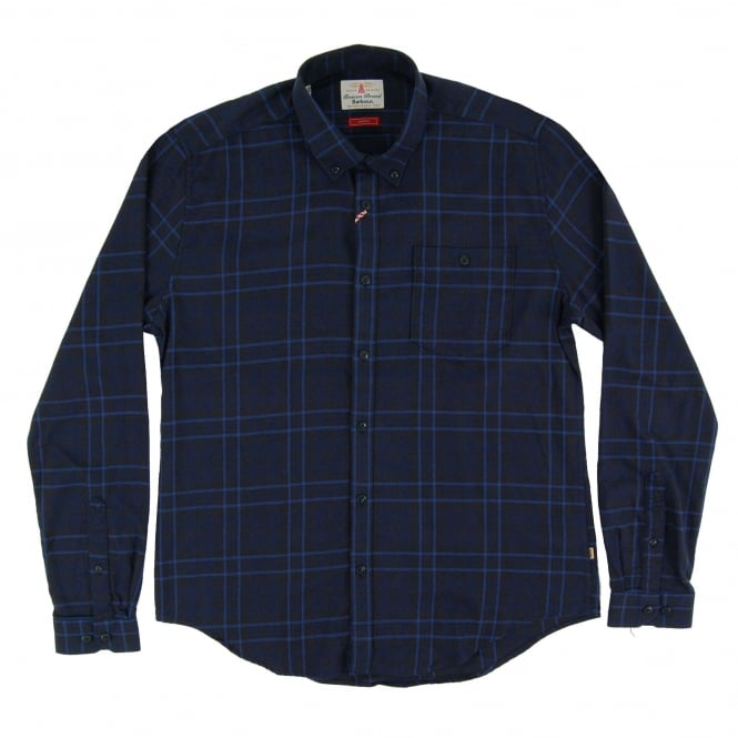 Barbour Airlie Check Shirt Indigo