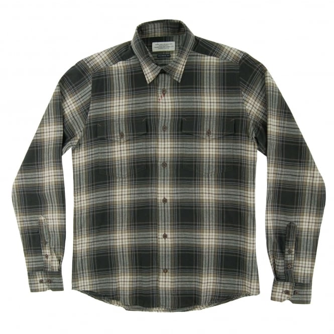 Barbour Anderby Check Shirt Forest
