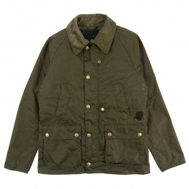 Barbour Arbor Bedale Wax Jacket Archive Olive