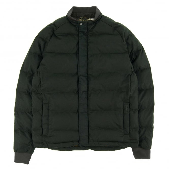 Barbour Ardwell Quilt Wax Jacket Light Olive