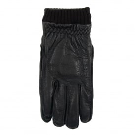 Barrow Leather Gloves Black