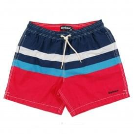 Beach Swim Shorts Red