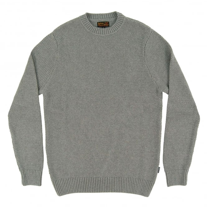 Barbour Bearsden Crew Jumper Grey Marl