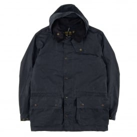 Binnacale Wax Jacket Navy