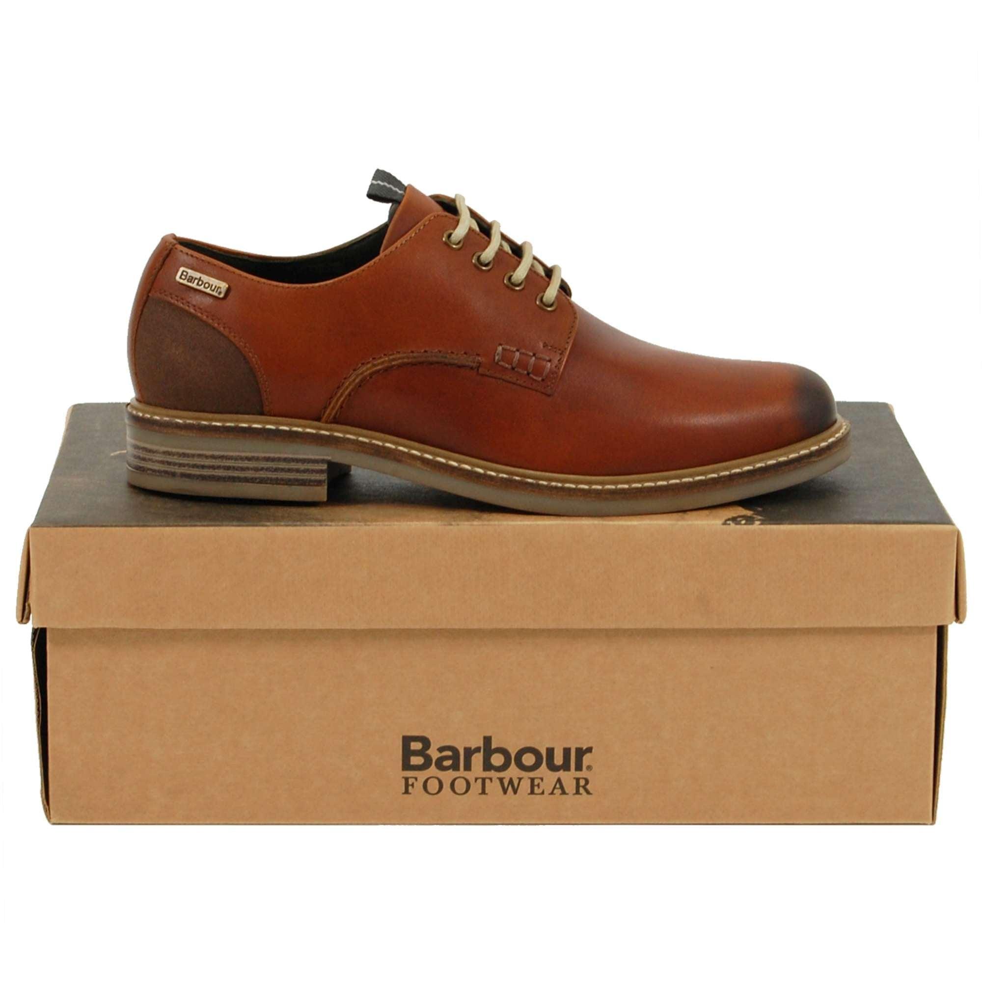 Bramley Derby Shoe Chestnut - Mens