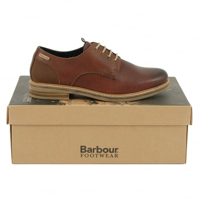 Barbour Bramley Derby Shoe Dark Brown